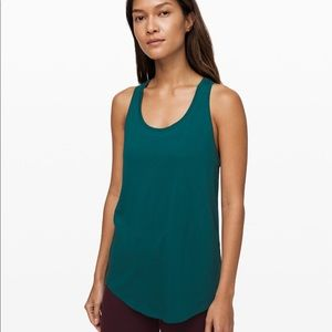 Lululemon love tank pleated